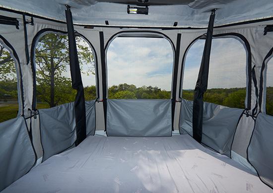 テント内から楽しめる360°(270°)ビュー